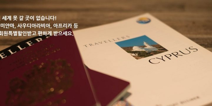 전 세계 VISA 대행수수료 20% 할인